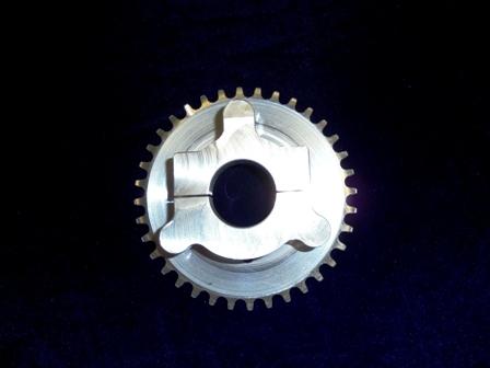 36 Tooth Sprocket, OCC Adapter 1.250-1.258 Manic Mechanic Sprocket Adapter Assembly