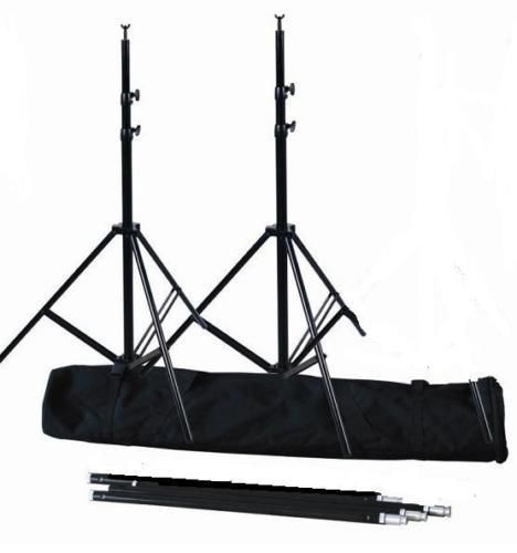 CanadianStudio Pro Heavy Duty 10x 10 Background Support Backdrop steel Stand Kit