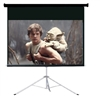 "Pro 120"" 16:9 Ratio Portable Tripod Projector Projection Screen Office Theater"