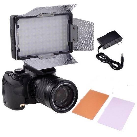 Pro 140-LED Camera Video Light DV Lamp Light Diffusers