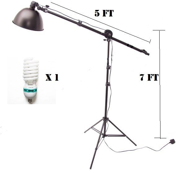 Admirable New Cotinuous Lighting Kit Reflector Boom Arm Hair Light Background Wiring Digital Resources Xeirawoestevosnl