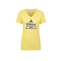Women's Yellow V-Neck