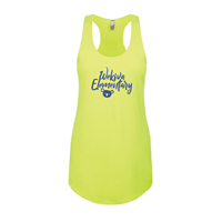 Women's Neon Yellow Tank