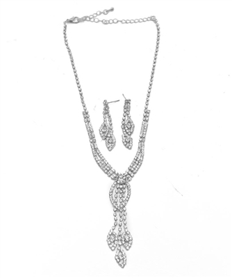 Rhinestone Jewelry Set