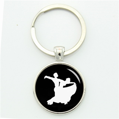 Ballroom Dance Key Chain