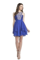 Royal Blue Salsa Dress
