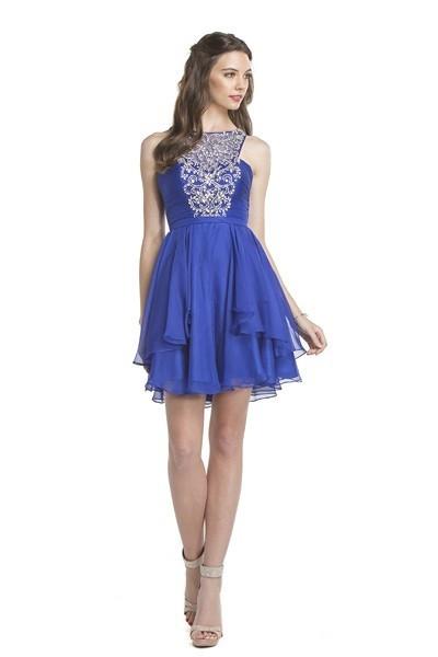 Royal Blue Dance Dress