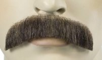 Human Hair Mustache Style M2