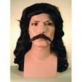 Wild Bill Wig and Mustache Set