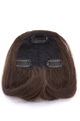 Heat Resistant Clip In Bangs - Instant Fringe