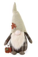 Abner Autumn Plaid Gnome