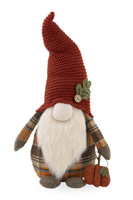 Cecil Autumn Plaid Gnome