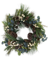 White Berry Bell Wreath