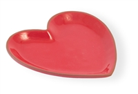 Red Cherry Terracotta Small Heart Plate