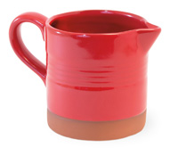 Red Cherry Terracotta Jug