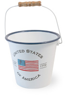 Americana - USA Handle Pail
