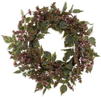 Hint of Pink Wreath