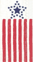 Distressed Flag Guest Towel