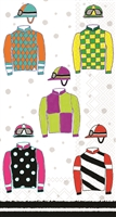 Jockey Silks Guest Towel