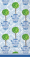 Rosanne Beck Blue Topiary Guest Towel