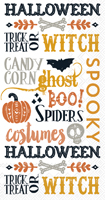 Rosanne Beck - Halloween Words Guest Towel