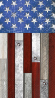 Farmhouse American Flag Guest Towel