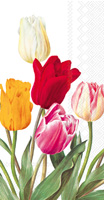 Tulips White Guest Towel