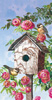 Lovely Birdhouse Guest Towel