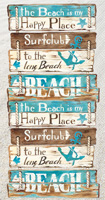 Happy Place at the Beach Guest Towel