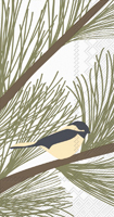 Kate Nelligan Chickadee and Pine Guest Towel