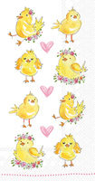 Easter Chicks Guest Towel