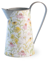 Daisy Field Watering Can