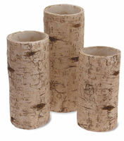 Birch Pillar Set