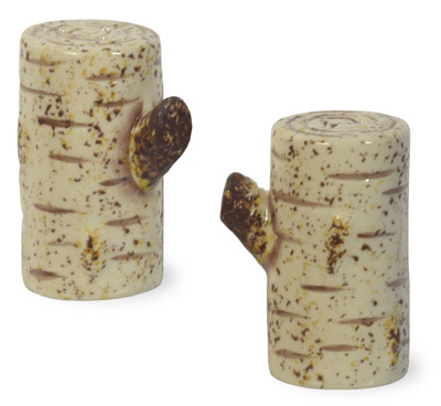 Birch Salt & Pepper Set