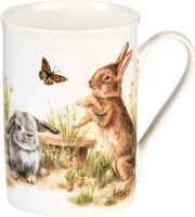 Bunny and Clyde Bone China Mug