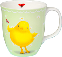 Sweety Mint Bone China Country Mug