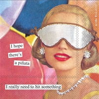 Anne Taintor Pinata Cocktail Napkin