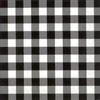 Buffalo Check Cocktail Napkin black