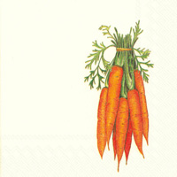 Carrots Cocktail Napkin