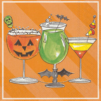 Rosanne Beck Spooky Cocktail Cocktail Napkin