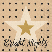 Bright Nights Cocktail Napkin