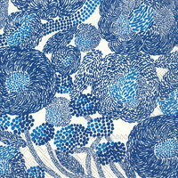 Marimekko Mynsteri Cream Blue Cocktail Napkin
