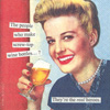 Anne Taintor Screw Top Cocktail Napkin
