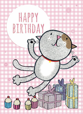 Cardooo Birthday Activity Card Pets