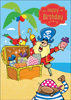 Cardooo Birthday Activity Card Pirates