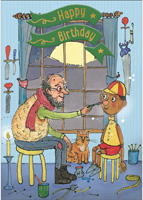 Cardooo Birthday Fairy Story Card Pinocchio
