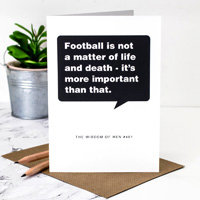 Coulson Macleod Football Greeting Card