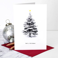 Coulson Macleod Christmas Tree Greeting Card