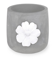 Daisy Grey Cachepot Small