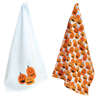 Jack O'Lanterns Tea Towels